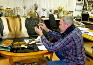 Обучение измерителей книги рекордов российских охотничьих трофеев