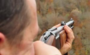 Прицеливаться ружье