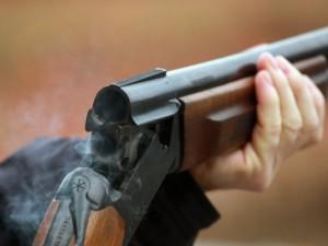 Ружье охотничье стрелять