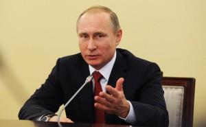 Владимир Путин на встерече с судьями